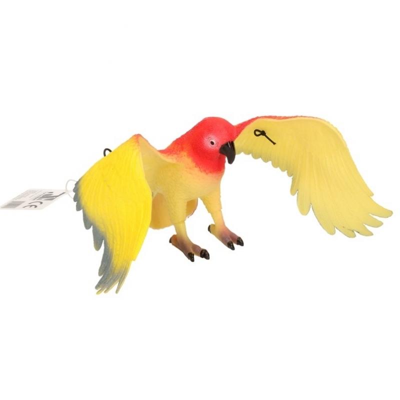 Afbeelding van Speelgoed papegaai rood 33 cm