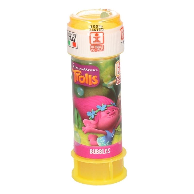 Afbeelding van Speelgoed trollen bellenblaas 1 stuk