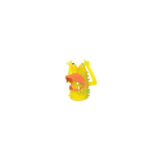 Afbeelding van Speelgoed vingerpopjes gele monsters