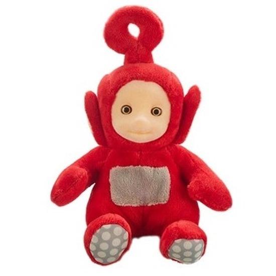 Teletubbie Po knuffel met geluid rood 20 cm