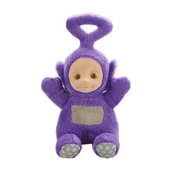 Teletubbie Tinky Winky knuffel met geluid paars 20 cm