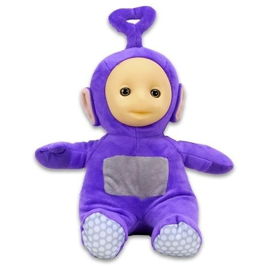 Teletubbie Tinky Winky knuffel paars 26 cm