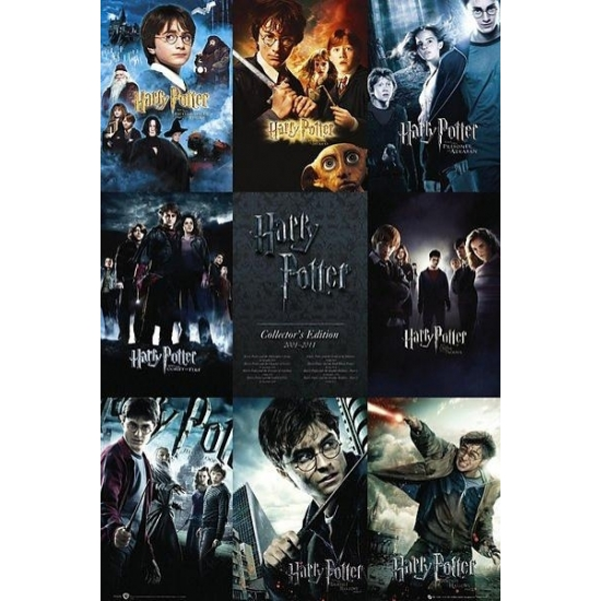 Thema Harry Potter maxi poster 61 x 91 cm