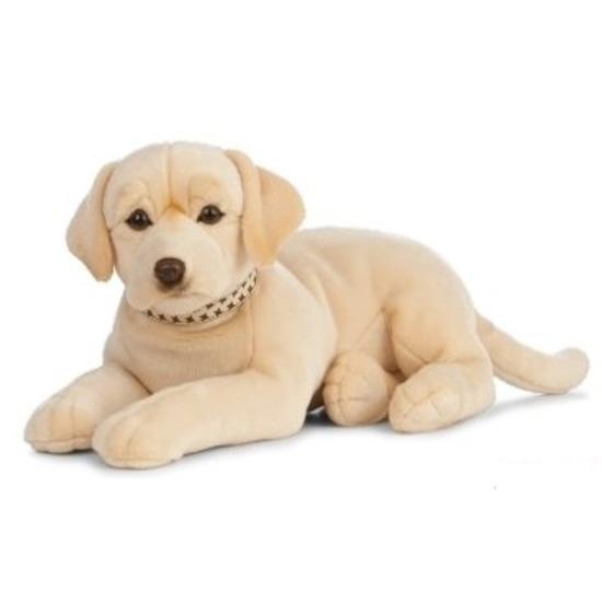XL Knuffel Labrador hond blond 60 cm knuffels kopen